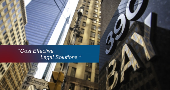 Cost Effective Legal Solutions.